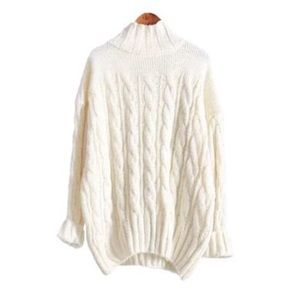 'Carlene' Cable Knit Sweater